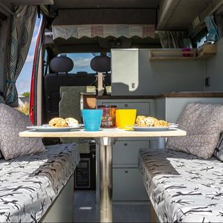 Campervan hire in Gloucestershire