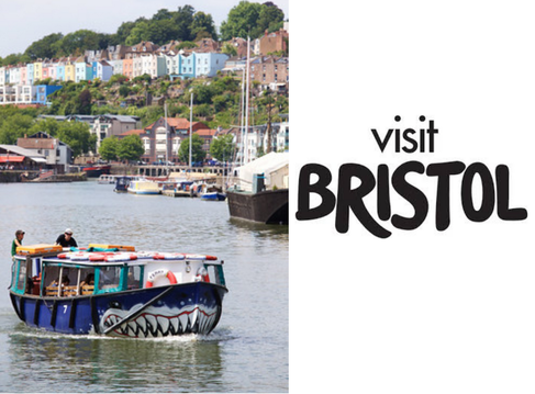 Visit Bristol campervan and motorhome road trip tour